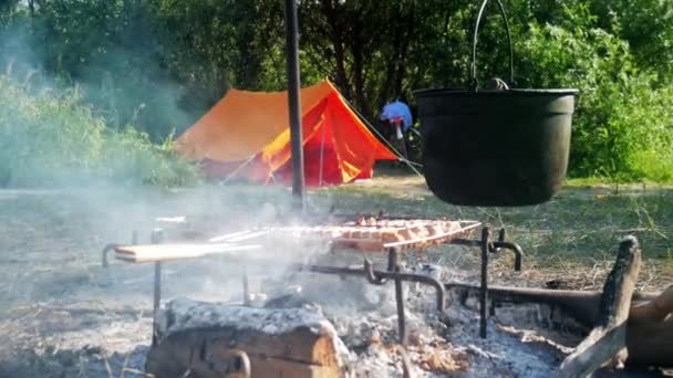 cocinar camping