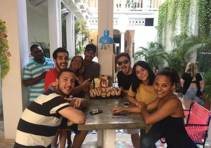Cocinero voluntario en Cartagena
