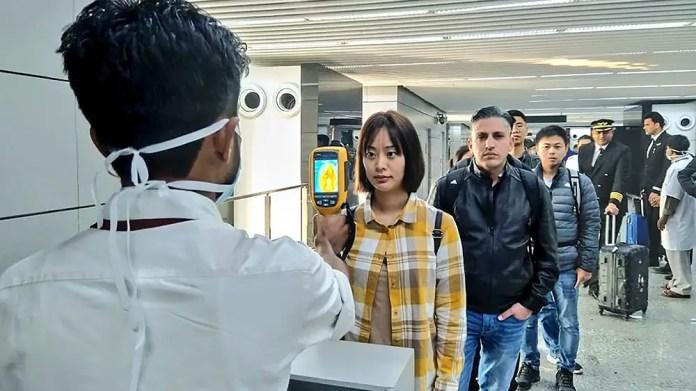 medidas en aeropuertos por el coronavirus
