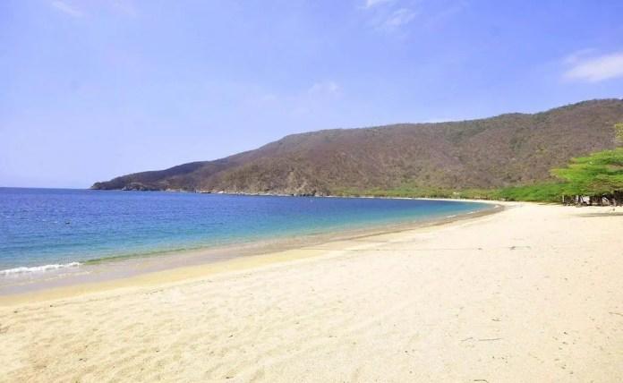 Playas turísticas de Santa Marta: Bahía Concha