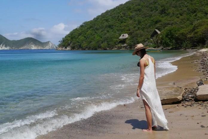 Playas de Colbia en Magadalena: Playa Cinto