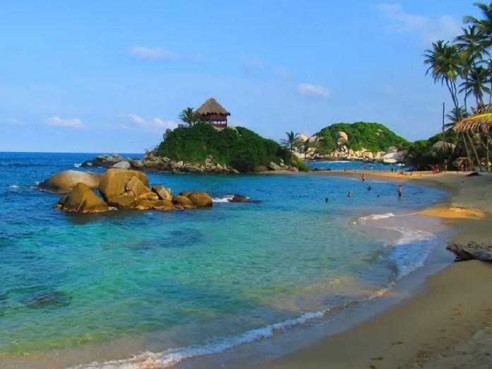 Playas más bellas Tayrona: Cabo San Juan