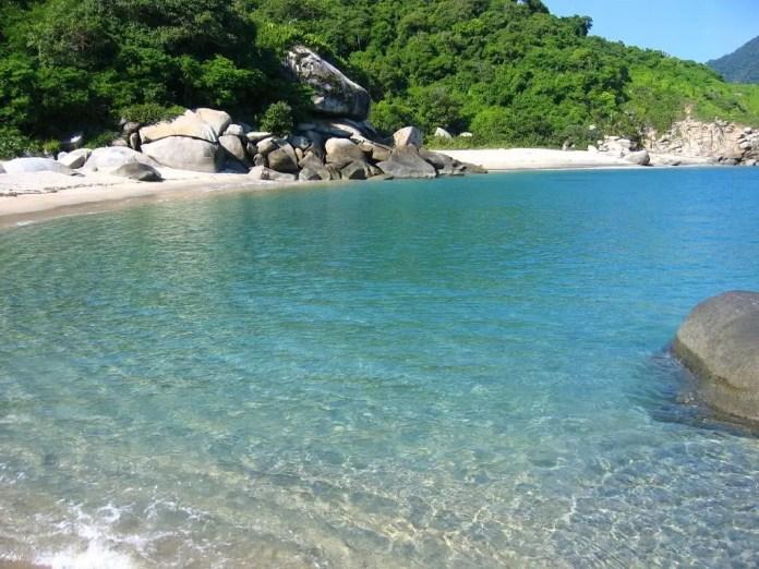 Mejores playas del Parque Nacional el Tayrona: Playa Piscina