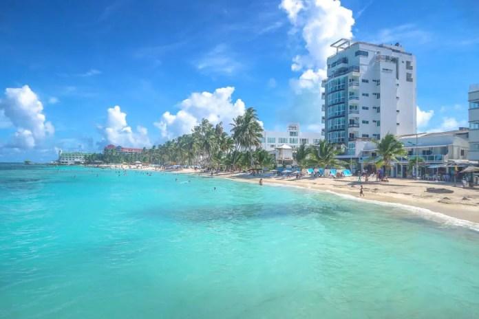 Playas turísitcas San Andrés: Playa Spratt Bight