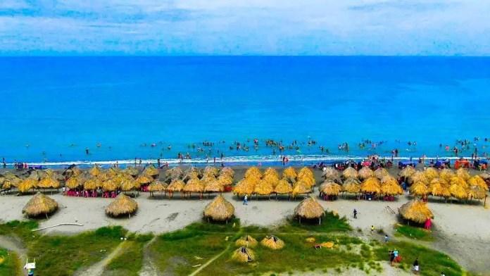 Playas más bonitas de Barranquilla: Playa Tubará