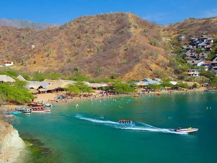 Playas más populares de Santa Marta: Playa Taganga