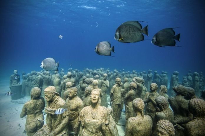 Museo Subacuático Musa en Isla Mujeres