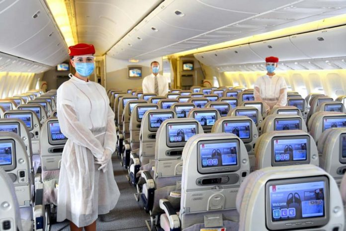 Viajar en avión covid-19