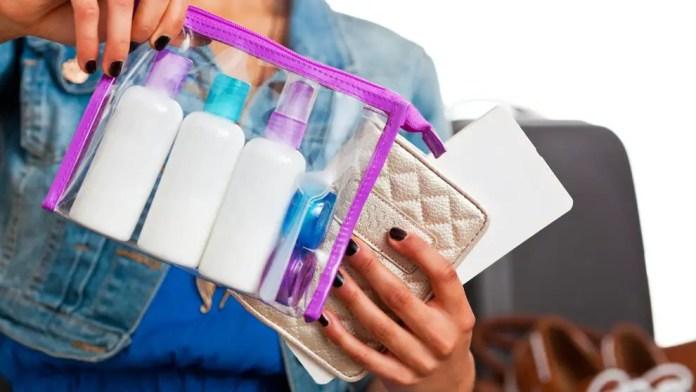 Cómo llevar líquidos en el equipaje de mano