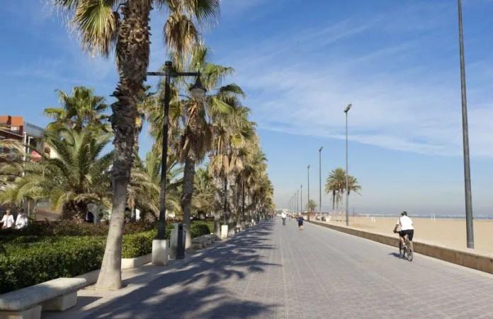 Puerto de Valencia España