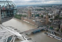vistas london eye