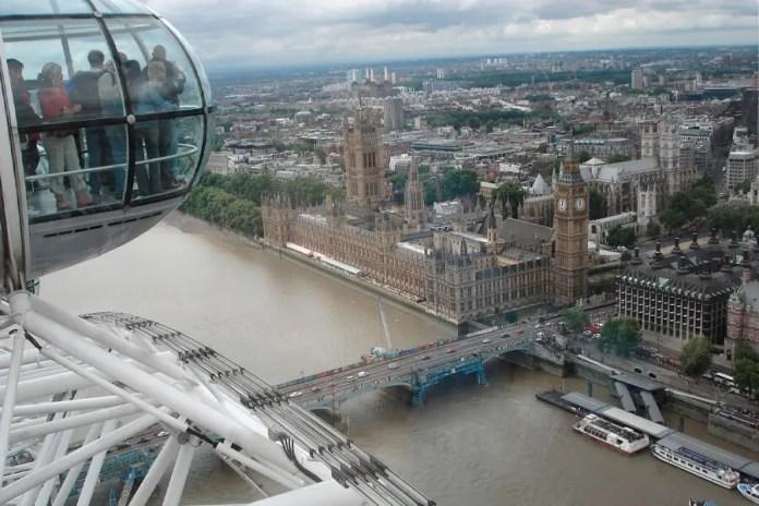 vistas london eye