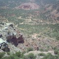 Take pictures from the scenic overlook of Palo Duro