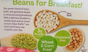 Cereal Made With Beans - Love Grown Polar Puffs Cereal
