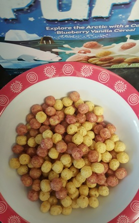 Love Grown Polar Puffs Cereal