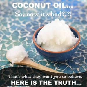 Coconut Oil Article by Trim Healthy Mama