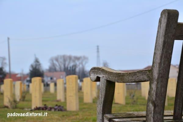 Padua War Cemetery - vista da panchina ©RobertaZago - padovaedintorni.it