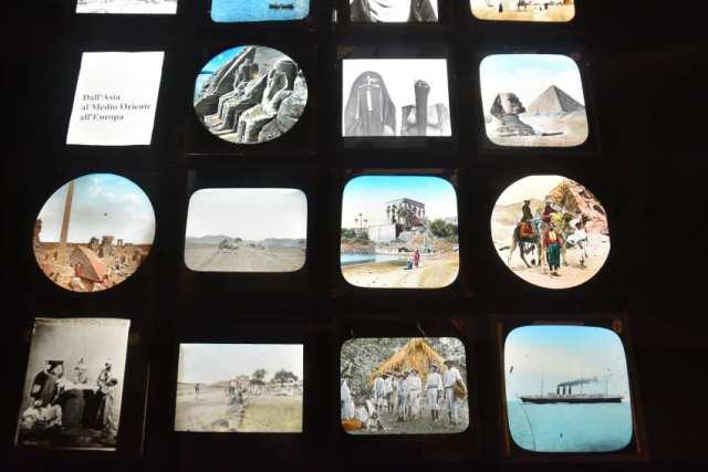 Museo del Precinema - vetri colorati- padovaedintorni.it ©RobertaZago