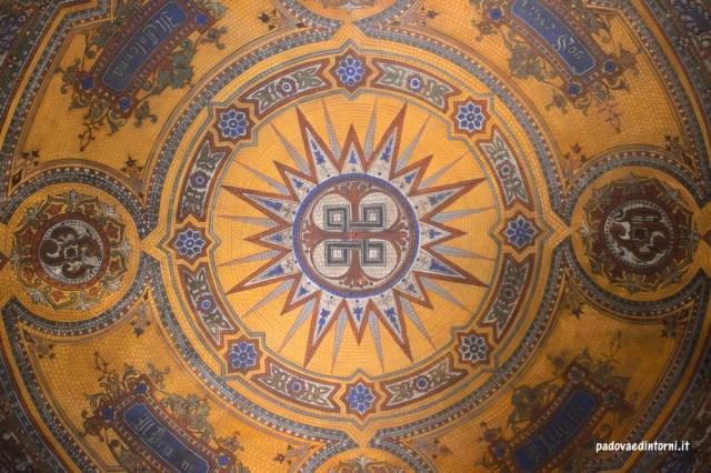 Casa Carmeli - particolare cupola ©RobertaZago padovaedintorni.it