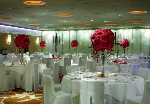 Crystal Room Dinner set up - The Ritz-Carlton, Vienna