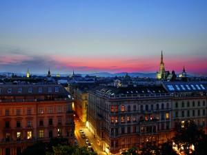 Vienna view from The Ritz-Carlton, Vienna