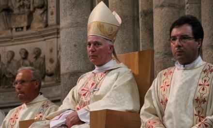 Bispo da Guarda celebra pelo Papa