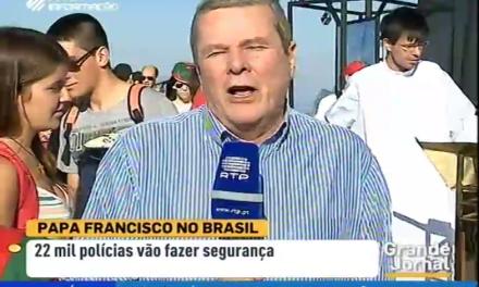 Padre Hugo Martins no Grande Jornal Primeira Emissão: 20 Jul 2013