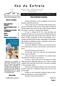 Folha paroquial nº 20