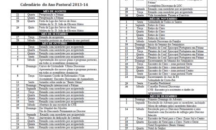 Diocese da Guarda; Apresentação do plano pastoral 2013-2014