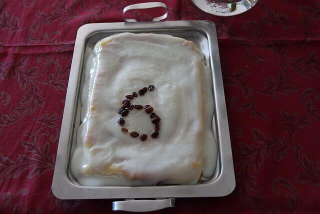 Receitas cá de casa: Bolo de fécula (ou bolo do Hugo)