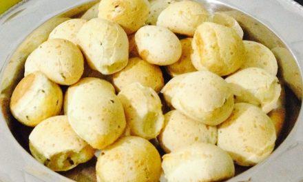 Receitas cá de casa: Pão de Queijo Integral