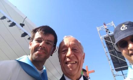 D. Manuel Felício peregrina a Santiago de Compostela