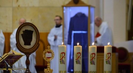 Relikwie św. O.Pio wróciły do Włoch,19.02.2016