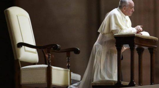 Rekolekcje papieża: wieczorna medytacja o namiętnej miłości
