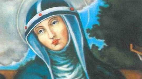 Święta Brygida Szwedzka, zakonnica,  patronka Europy
