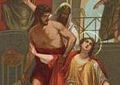 Święci męczennicy Sabina, Wincenty i Chrestyna