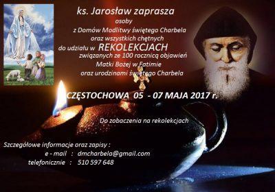 Rekolekcje w Częstochowie