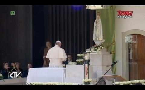 Podsumowanie pierwszego dnia pielgrzymki papieża Franciszka w Fatimie(Vatican Service News -12.05.2017)