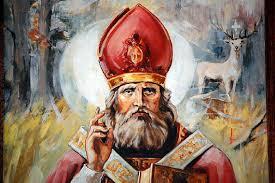 Święty Hubert, biskup (03.11.2017)