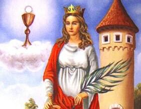 Święta Barbara, dziewica i męczennica (04.12.2017)