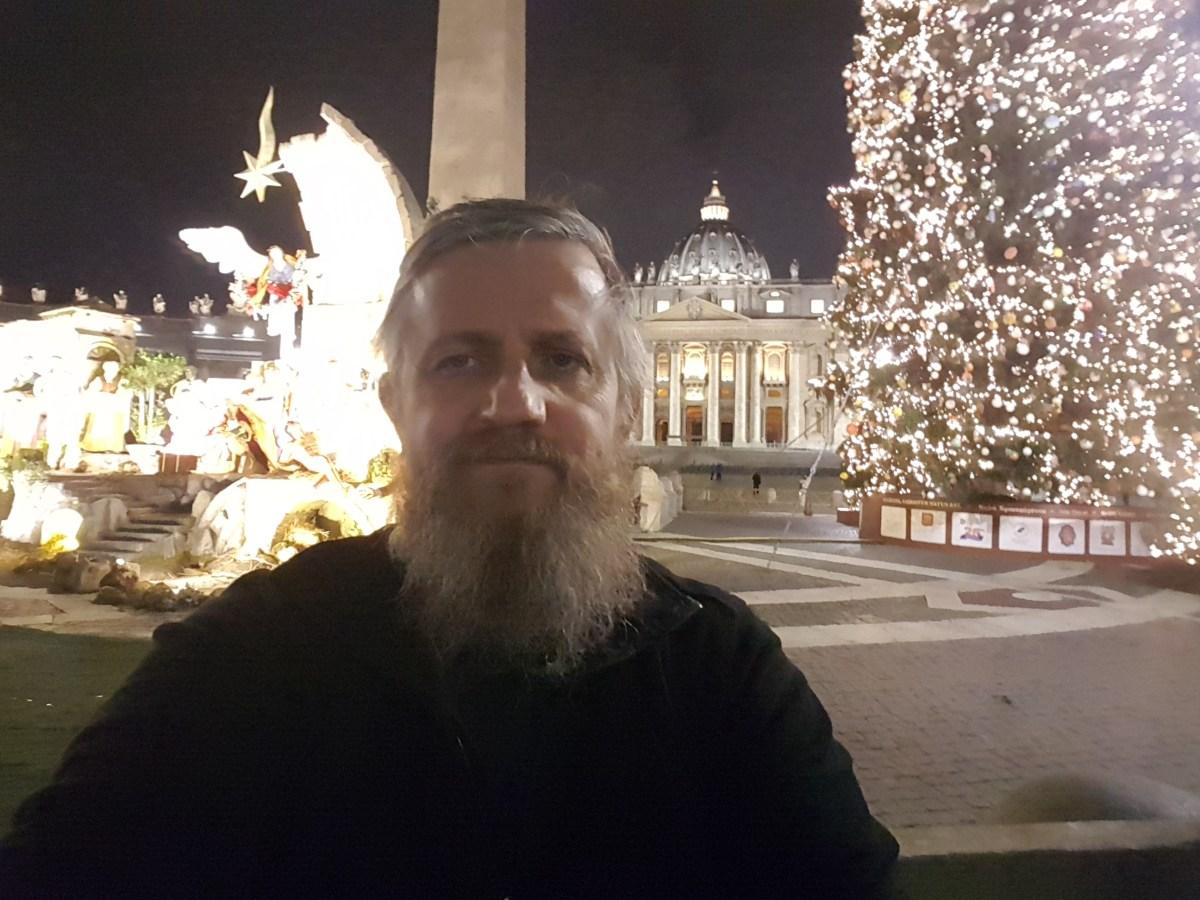 Ksiądz Jarek w Rzymie 11.12.2017