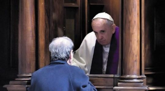 W bazylice – liturgia pokutna, na via Conziliazione – Droga Krzyżowa  (9.03.2018)