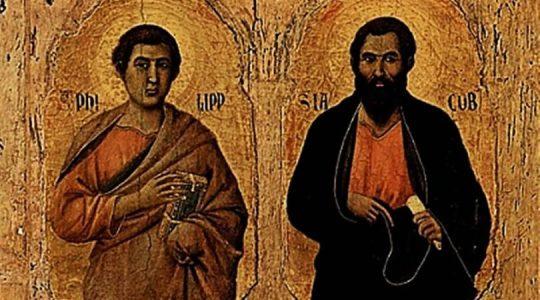 Święci Apostołowie Filip i Jakub (06.06.2018)
