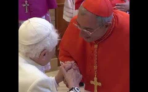 Spotkanie papieży i nowych kardynałów(Vatican Service News - 29.06.2018)