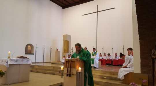 Msza św. w Moers – z udziałem chóru z Częstochowy  (8.07.2018)