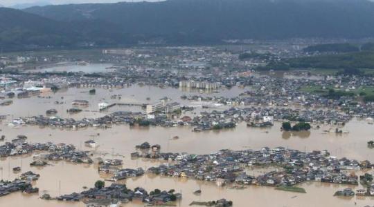 Módlmy się za ofiary wielkiej powodzi w Japonii (Vatican Service News - 10.07.2018)