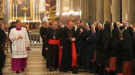 Msza święta w intencji naszej Ojczyzny w bazylice Matki Bożej Większej w Rzymie(09.11.2018)