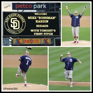 Mike's First Pitch, 4/23/13