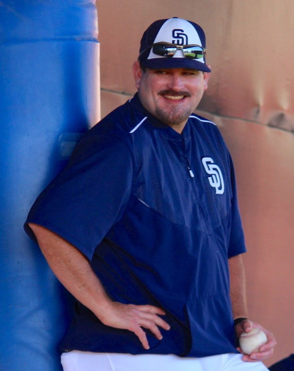 Dough Bochtler, Padres Spring Training 2016 Photo by Rebecca Herman