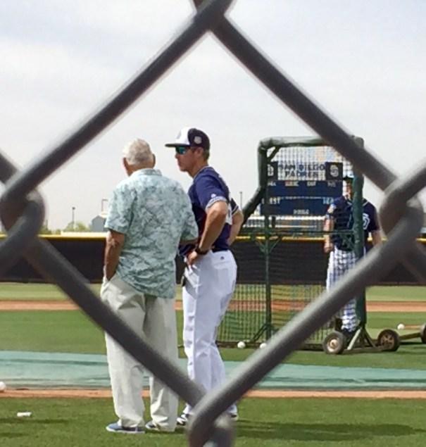 Coach Welke with Coach Zinter